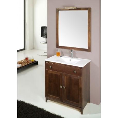 Mueble de ba o malta - Muebles de bano madera ...