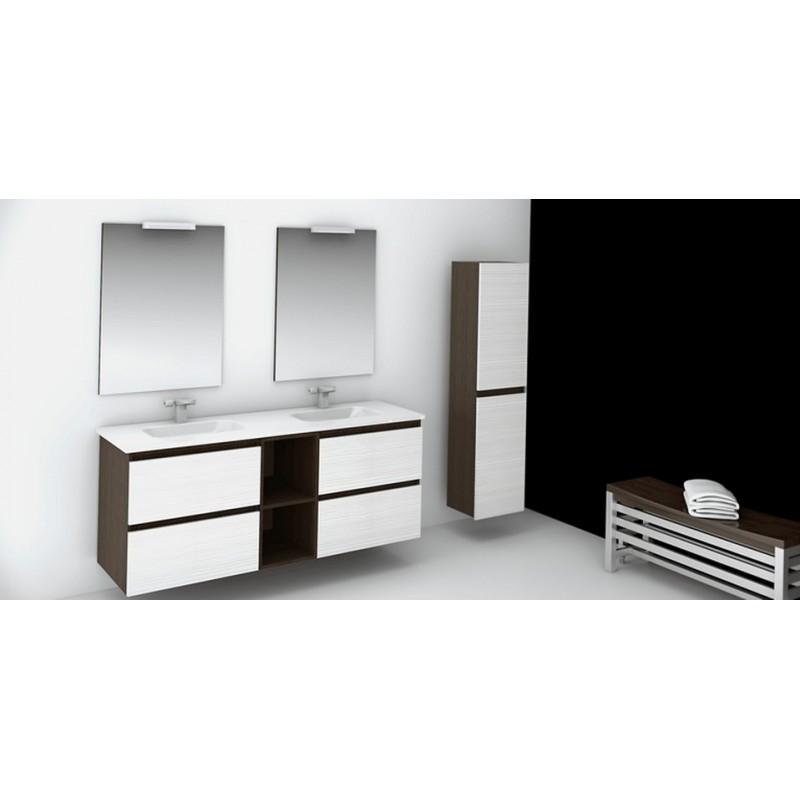 Muebles de ba o doble lavabo for Muebles de lavabo a medida