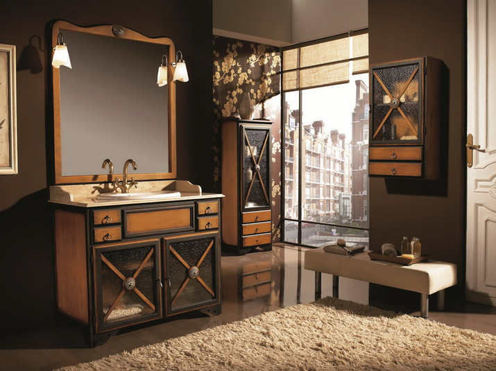 Baños Rusticos En Madera:muebles de baño rústicos que nunca se pasan de moda
