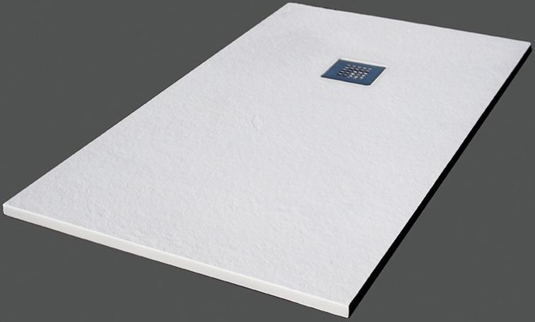 Plato de ducha de resina textura pizarra - Como limpiar el plato de ducha ...