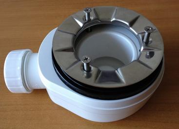 Plato de ducha de resina textura pizarra for Cortar plato de ducha de resina
