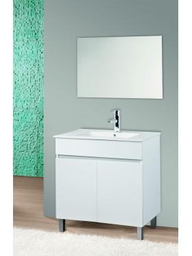 Mueble  de baño Lupo blanco 80 cm