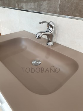 Mueble de baño Trent blanco