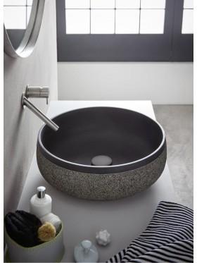 Lavabo de piedra chiloé