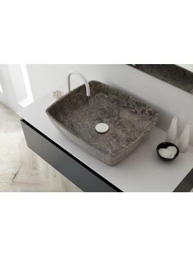 Lavabo de piedra manaos grey