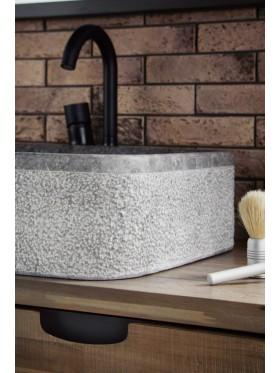Lavabo de piedra Salta antracita