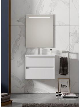 Mueble de baño Lerma blanco brillo
