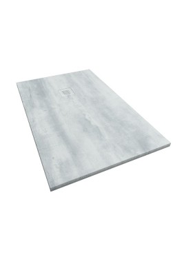 Plato de ducha de resina y carga mineral Artic