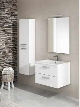 mueble de baño Granada blanco brillo