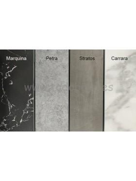 Plato de ducha de resina y carga mineral STONE mármol