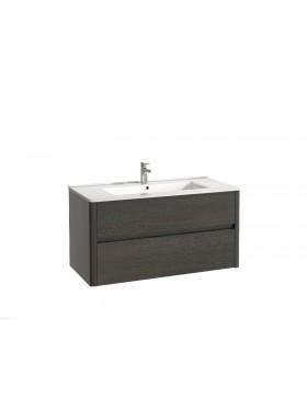 Mueble de baño Asun acabado wengué