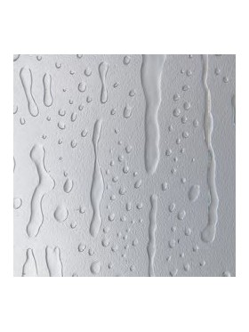 detalle del acrílico agua viva