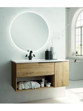 Mueble de baño Modena Roble