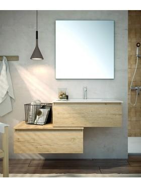 Mueble de baño Toscana acabado bambú