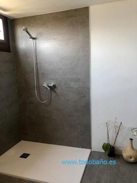 Plato de ducha de Resina  a Medida blanco