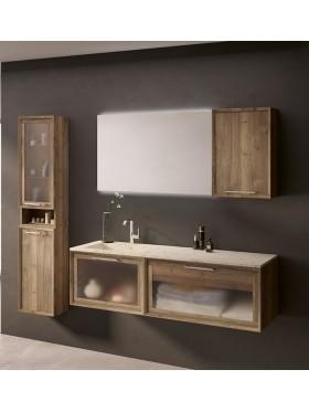 Mueble de baño Mila Cristal