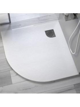 Plato de ducha Pizarra Semicircular