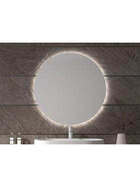espejo luna con luz led