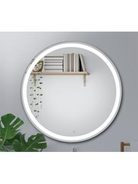 Espejo de baño LED redondo