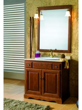 mueble de baño clasic nogal