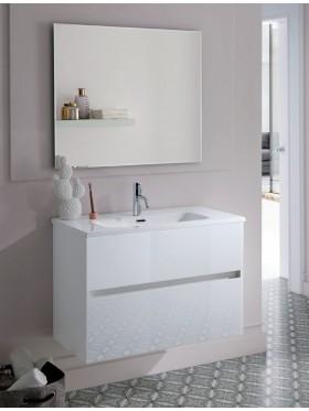 Mueble de baño glass line