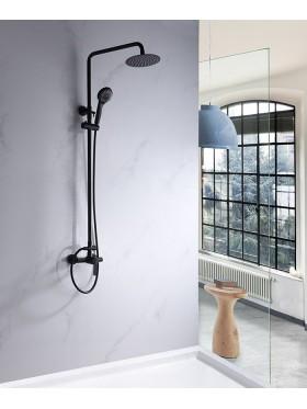 Conjunto de ducha Roma Negro Imex
