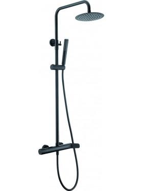 Conjunto ducha Dinamarca negro Imex