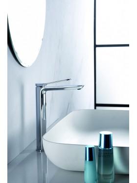Grifo de lavabo caño alto Dinamarca Imex