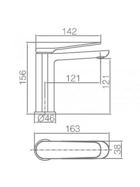 Ficha técnica grifo de lavabo Dinamarca Blanco Imex