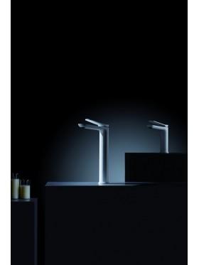 Grifo de lavabo caño alto Dinamarca Blanco Imex