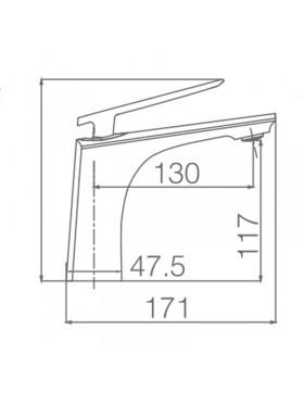 Ficha técnica grifo de lavabo Escocia Imex