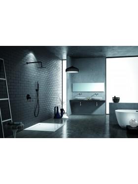 Conjunto de ducha Milos Negro Imex