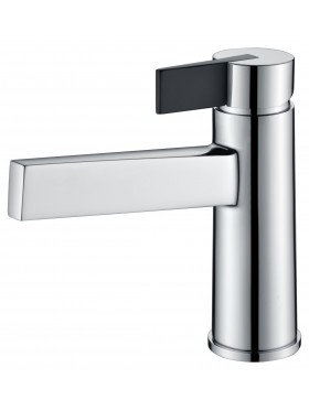 Grifo lavabo Elba Negro Imex