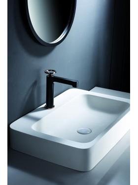 Grifo de lavabo Olimpo Negro Oro Rosa Imex