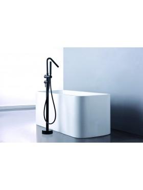 Grifo de bañera Córcega Negro Imex