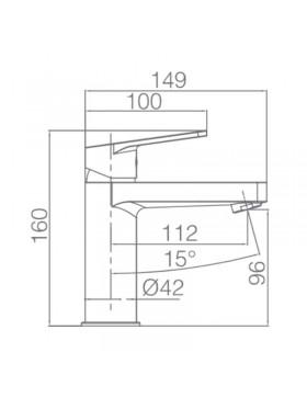 Ficha técnica grifo de lavabo Teide Imex