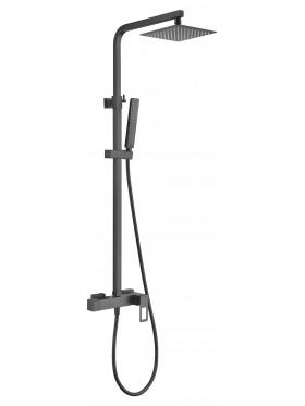 Conjunto grifo de ducha Negro Suecia Imex