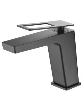 Grifo de lavabo Negro Suecia Imex