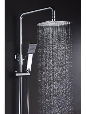 Detalle telefonillo y rociador extraplano de ducha Art Imex