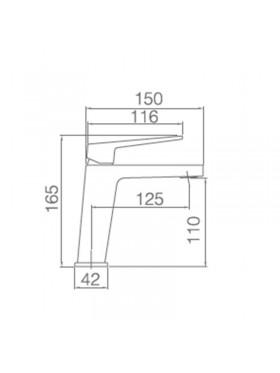 Ficha técnica grifo de lavabo Art Imex