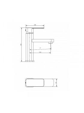 Ficha técnica grifo de lavabo Bremen Imex