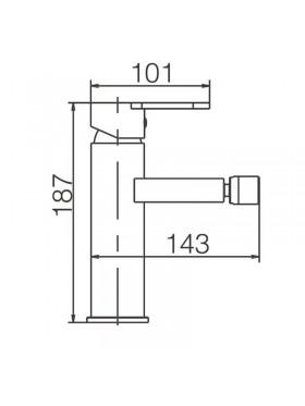 Ficha técnica grifo de lavabo Bristol Imex