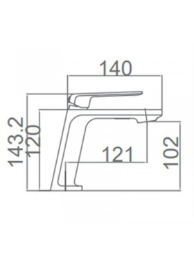 Ficha técnica grifo de lavabo Fiyi Imex