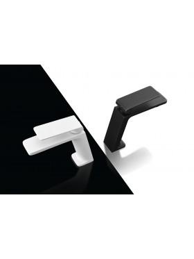 Grifo de lavabo Negro y Blanco Fiyi Imex
