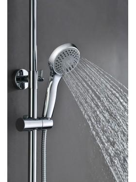Detalle telefonillo de ducha Cromado Londres Imex