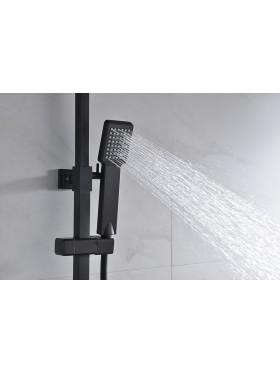 Detalle telefonillo de ducha Negro Vigo Imex