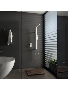 Conjunto de ducha Blanco Bahamas Imex