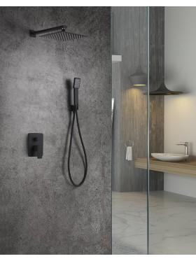 Conjunto de ducha Negro Dublín Imex