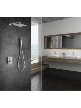 Conjunto de ducha Blanco Dublín Imex