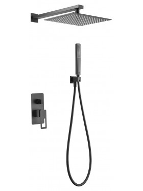Conjunto de ducha Negro Suecia Imex